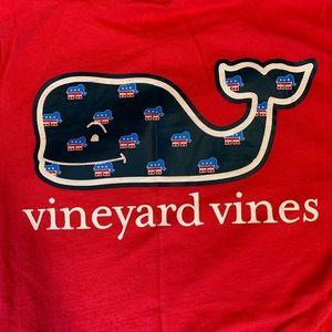 Vineyard Vibes Republican Pocket Tee